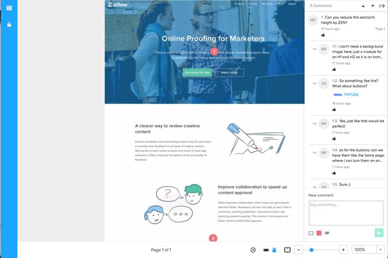 online-proofing-ziflow-website