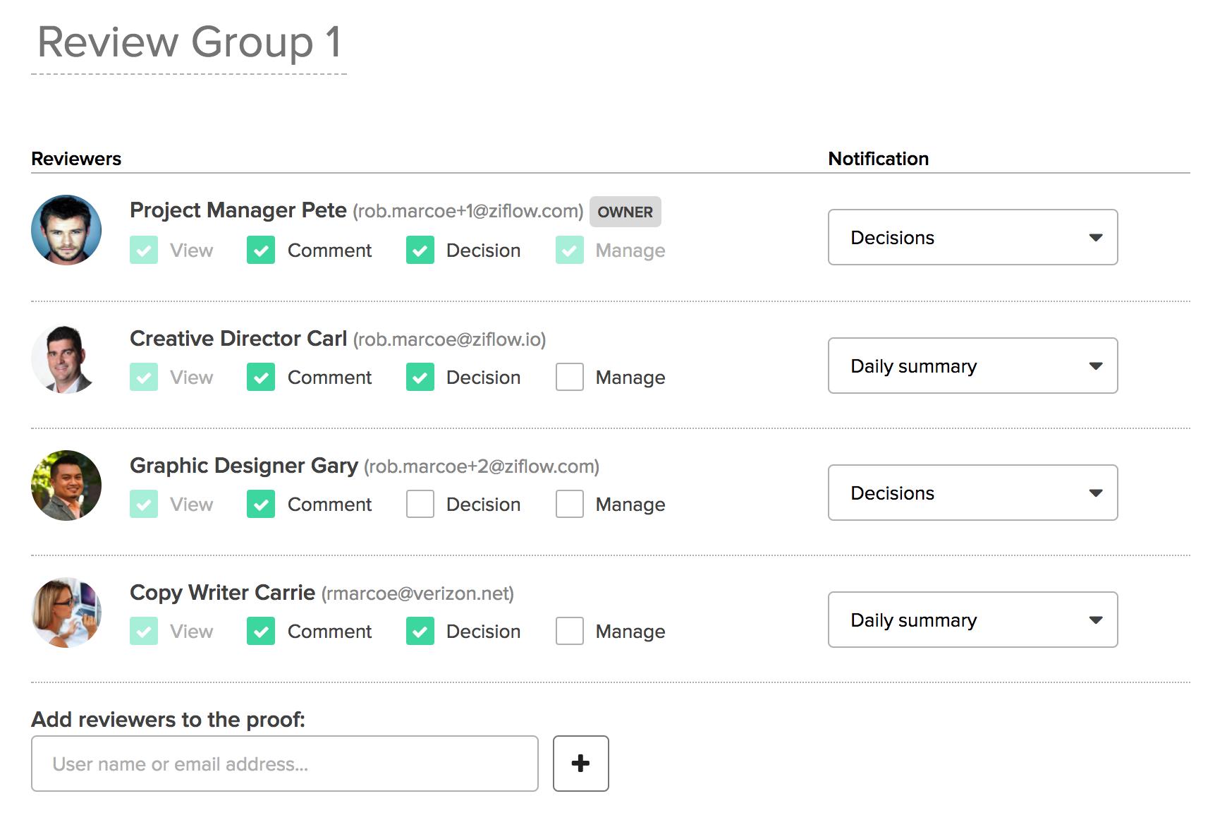 ziflow-review-groups