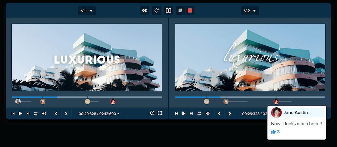 compare videos