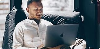 man-working-remotely