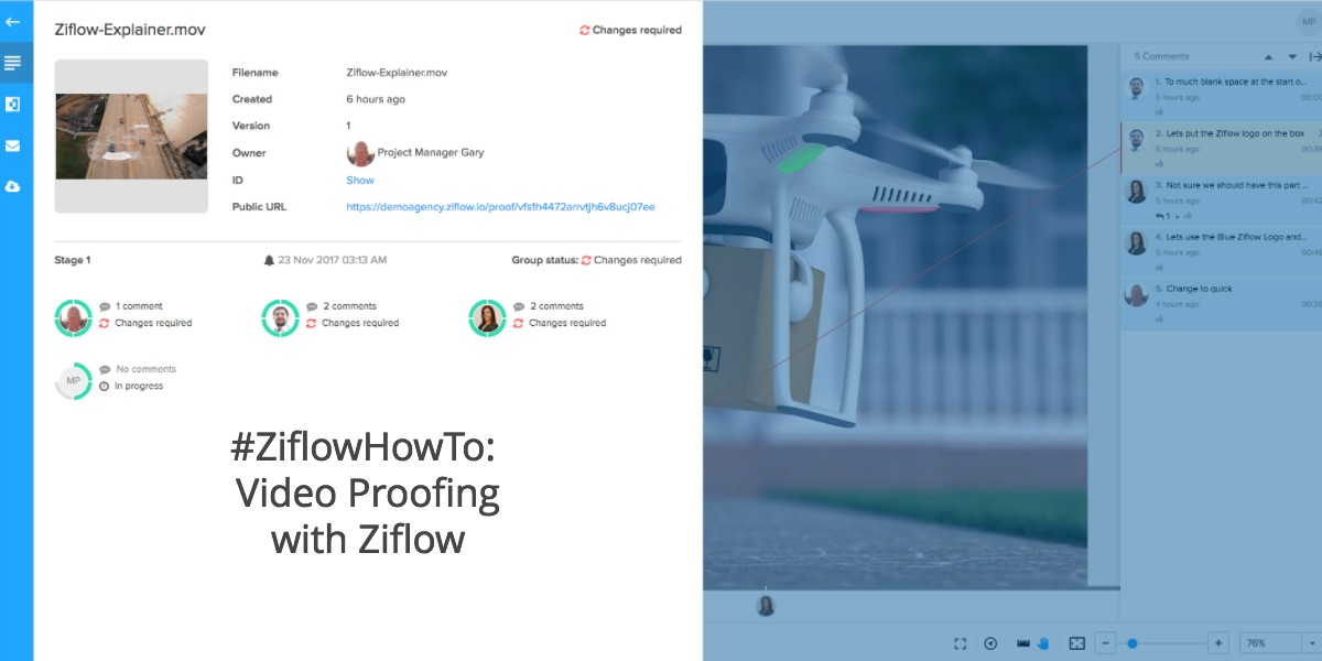 #ZiflowHowTo: Video Proofing with Ziflow