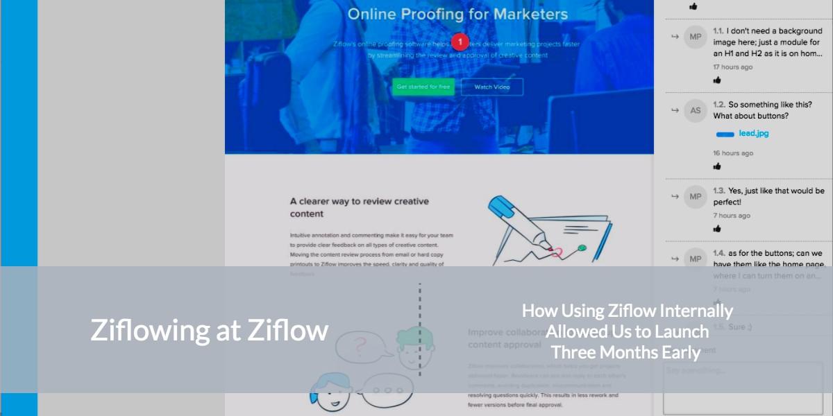 How We Use Ziflow at Ziflow