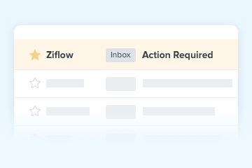 Automated reminders in Ziflow