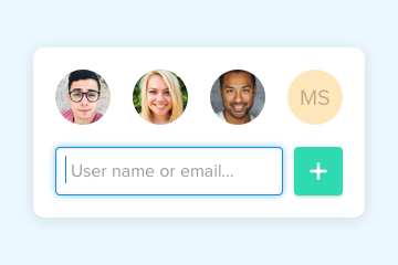 Keep the right team members in the loop automatically